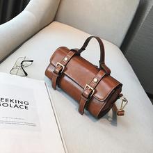 欧美时尚复古迷你小波士顿手提包2017夏季新款休闲斜挎小包包女包