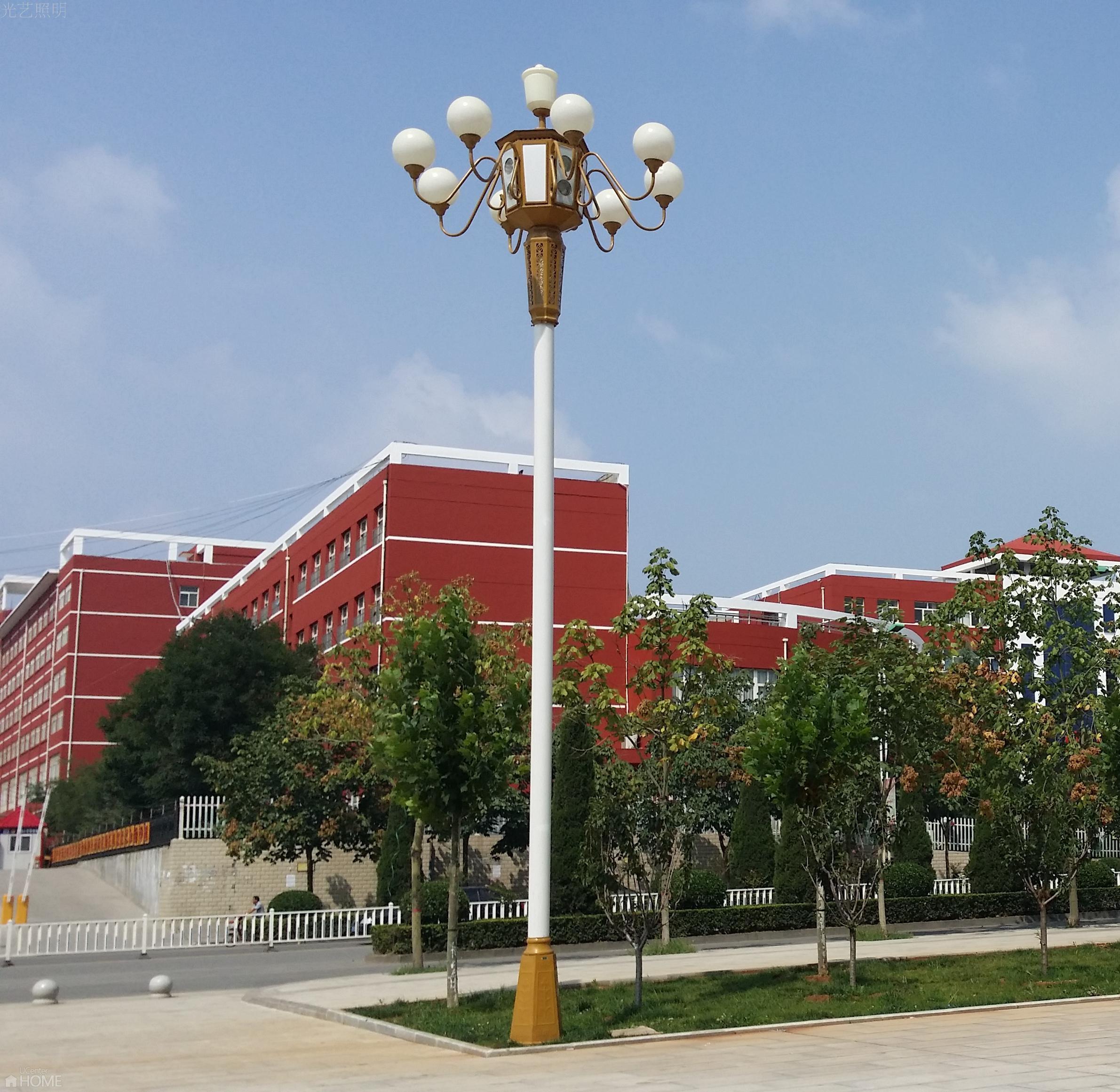 6米7米8米9火中华灯现代中式路灯户外灯高杆灯小区景观灯庭院灯图片