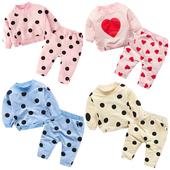 蓓莱乐婴儿童装套装春秋女宝宝0岁1个月3春装2男童4卫衣服6婴幼儿