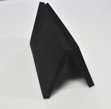免邮 盒内衬海绵切片订制 高密度黑色海绵块包装 填充减震礼品 定做