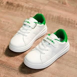 3童装小孩女鞋子5儿童男鞋6男童运动板鞋7单鞋8女孩秋鞋9白鞋12岁