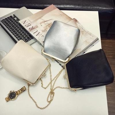 天天特价2017春季新款韩版潮女包链条包女士单肩包斜挎小夹子包