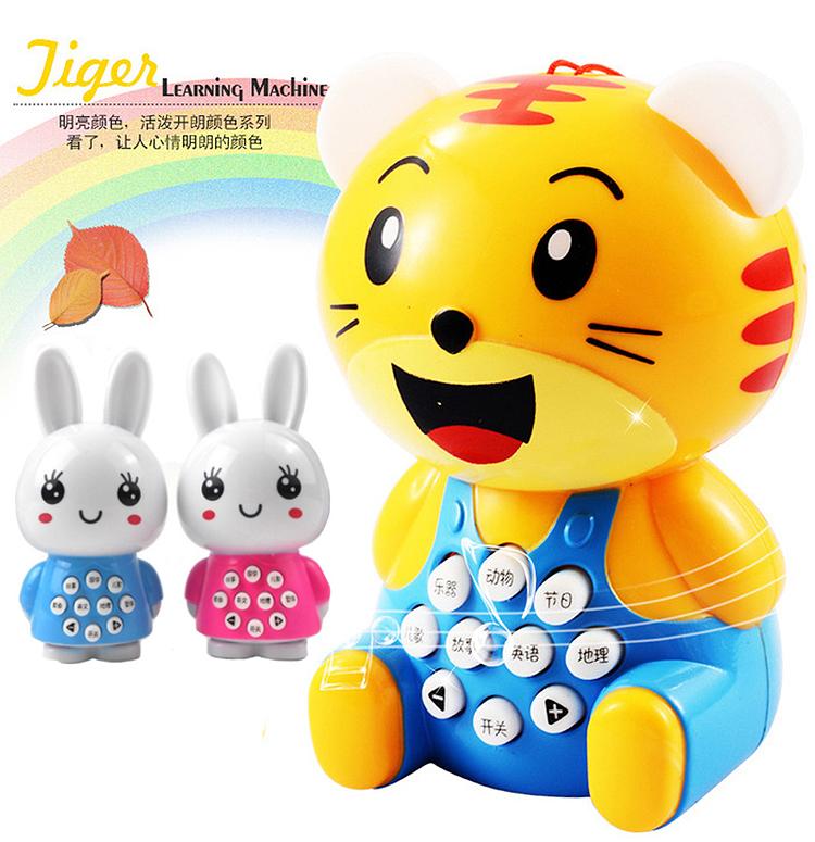 儿童益智火火兔子早教机迷你小虎故事机巧虎智能宝宝