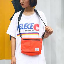 夏天单肩小包旅行便携证件小物袋防水斜挎单肩包男女运动风手机包