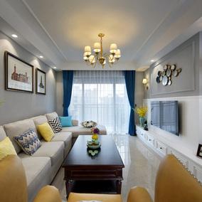 精英设计师   东弘美式风格现代简约家装装修设计效果图服务