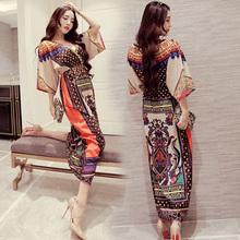 衣裙 泰国旅游气质沙滩裙适合去三亚穿 衣服云南丽江民族风服装