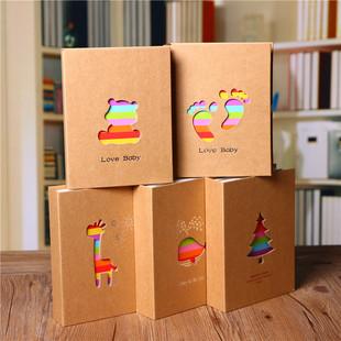 天天特价5寸200张6寸7寸100张宝宝成长家庭插页相册影集创意礼物