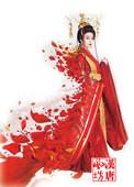 2015王朝的女人杨贵妃范冰冰同款演出服装唐朝襦裙大红写真古装女