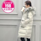 2016新款羽绒服女中长款宽松加厚韩国大码过膝韩版修身显瘦冬装潮