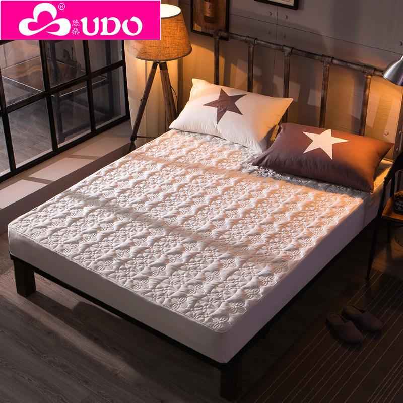 床罩床单床垫护套套床裙席梦思 磨毛夹棉床笠单件加厚双面