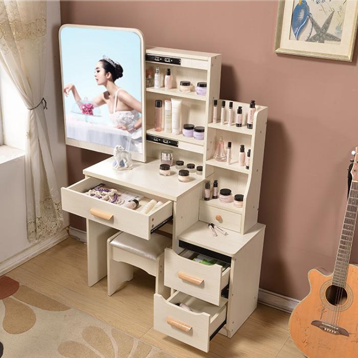 梳妆台卧室小户型宜家迷你简易欧式化妆台小型桌子