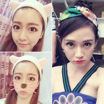 陈乔恩同款韩国可爱猫耳朵发带宽边发饰洗脸发箍发卡兔耳朵头饰品