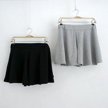 现货 限时打折 新款 夏季女装 韩版裤裙 百搭裙裤 短裤 短裙