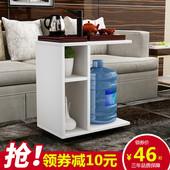 创意简约小户型茶几可移动客厅功夫茶桌宜家卧室边几角几床头桌子