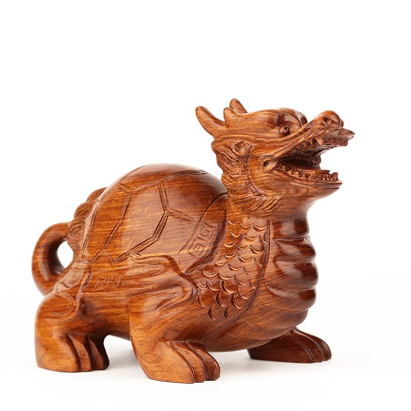 东阳红木雕刻工艺品风水摆件