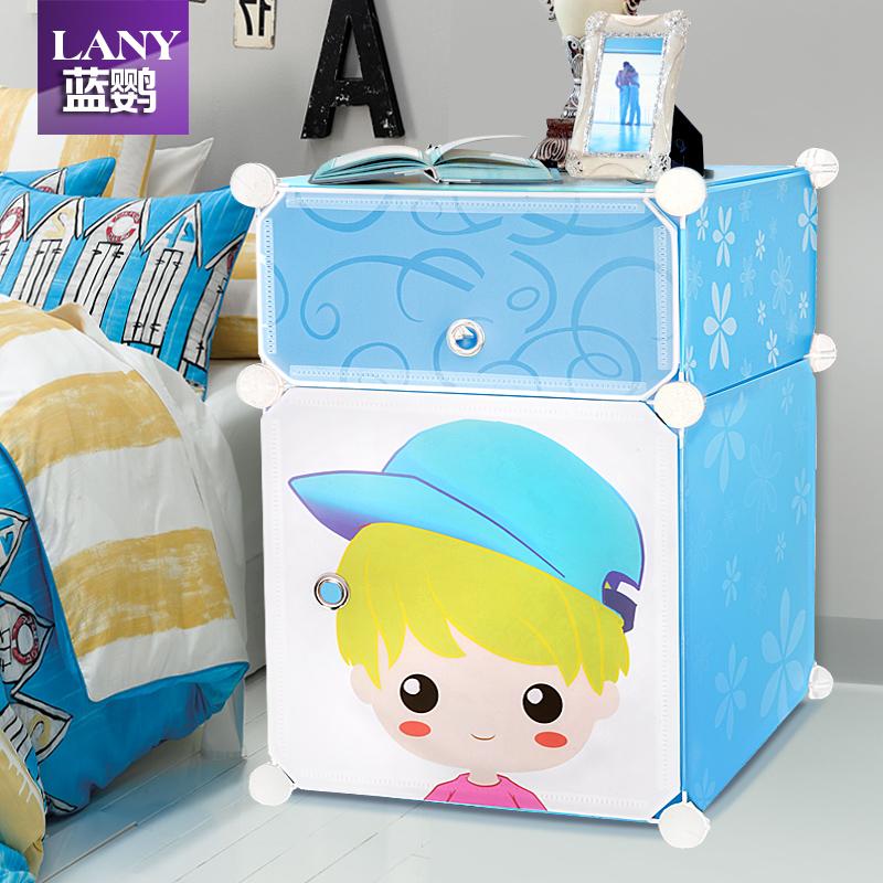 简易床头柜特价 创意卧室现代简约床边柜小型