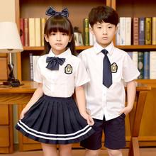 卷卷毛童装校服套装男女童学院风小学生校服三件套幼儿园表演服