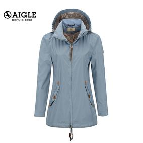 【限时特惠】AIGLE 艾高 女士轻量防水透气风衣夹克 ELLESSE