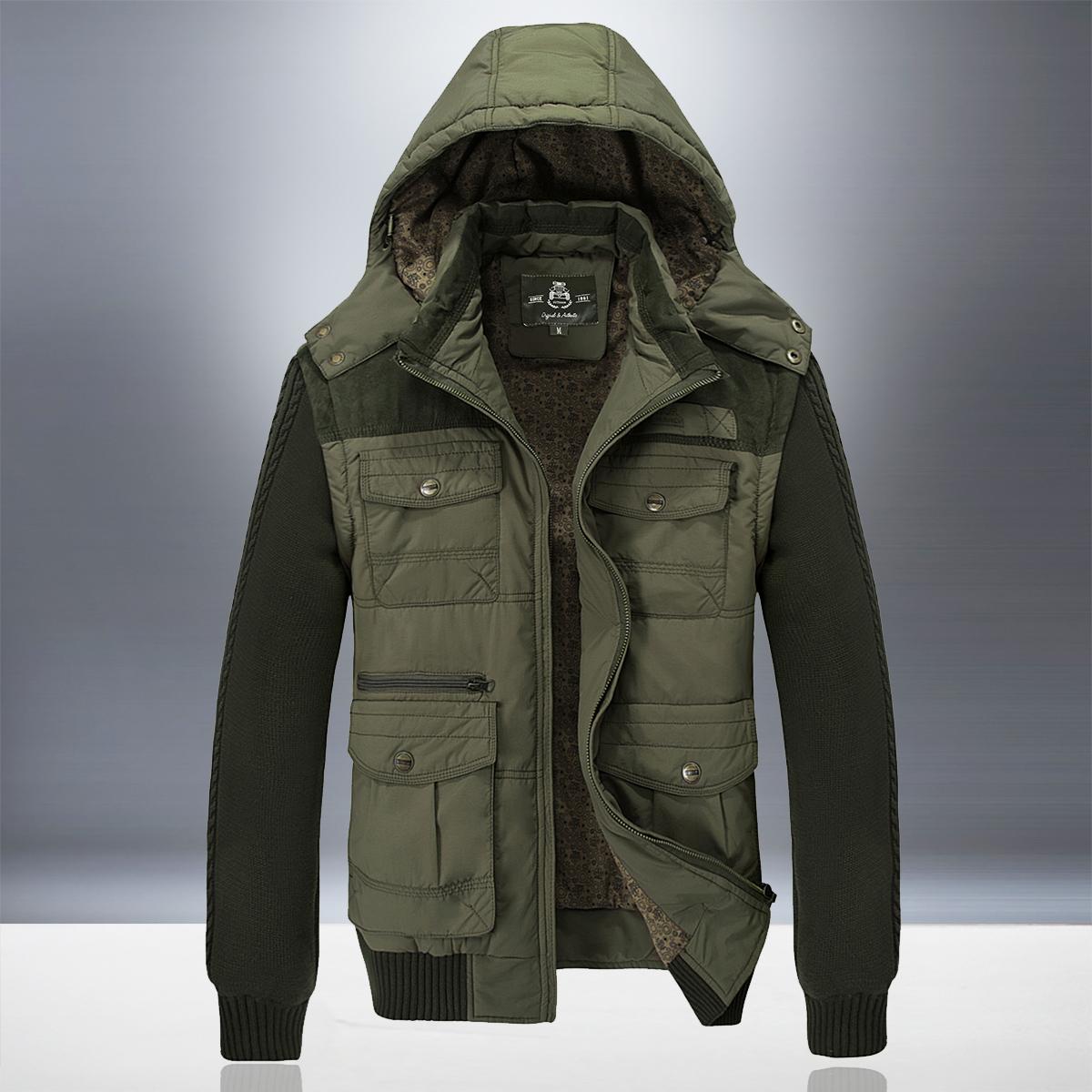 工装加厚青年棉衣休闲宽松外套棉袄冬季 AFS