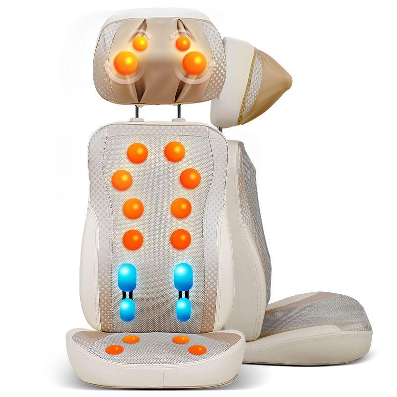 按摩多功能颈椎家用肩部机械手颈部腰部靠垫椅垫