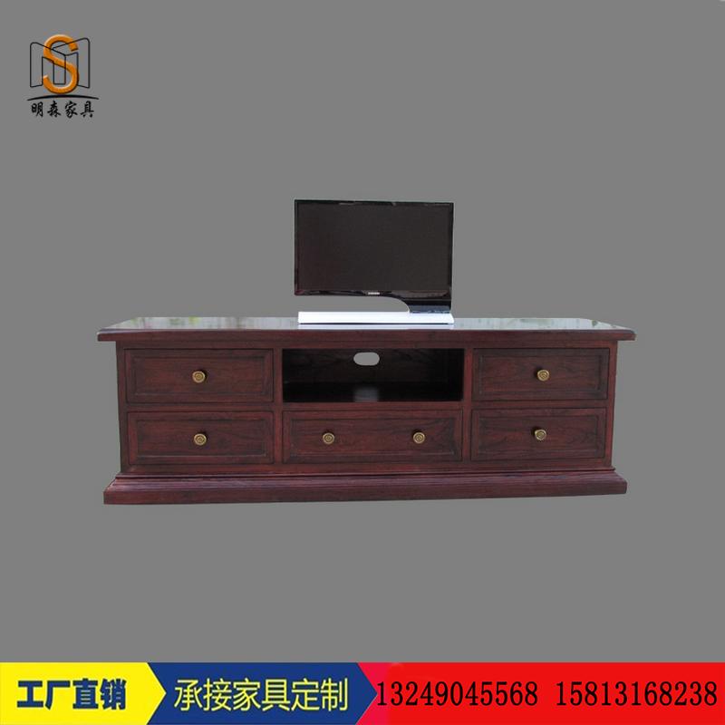 特价 全屋定制家具电视柜地柜仿古客厅地柜厚度板 美式电视机柜