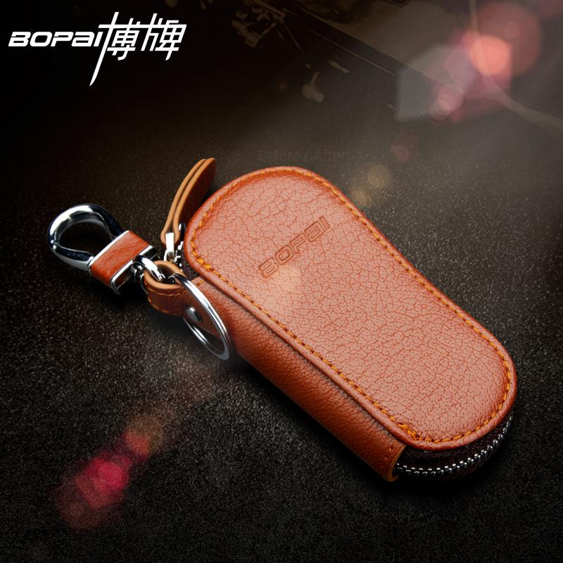 名牌时尚男包钥匙包男士真皮汽车钥匙包精品大气进口真皮精致小包