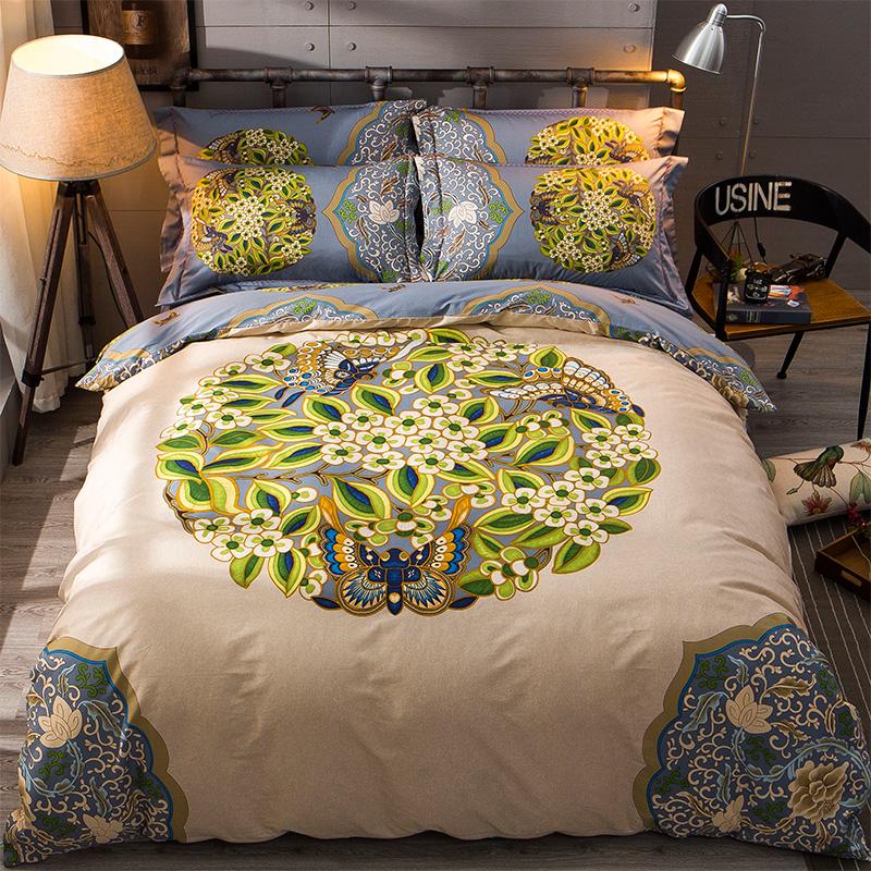 床上用品床單雙人被套 四件套全棉床品床上純棉套件
