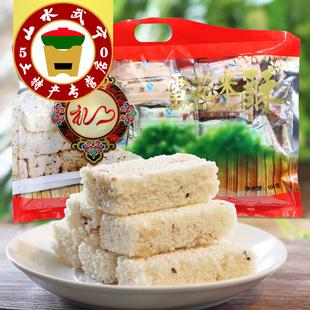 雪花米酥560g袋装六种口味江西武宁特产冻米糖年货礼品休闲零食品