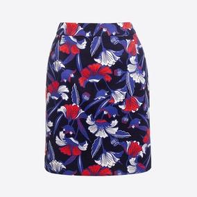 现货美国代购J.Crew/ jcrew女士时尚印花迷你裙半身裙