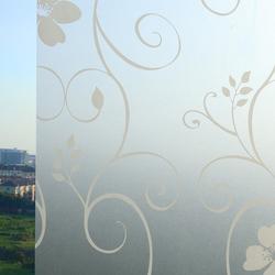 磨砂玻璃贴纸浴室卫生间防晒遮光隔热贴膜窗户移门透光不透明窗贴