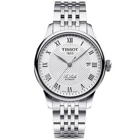 分期购 瑞士天梭TISSOT力洛克机械手表T41.1.483.33/53钢带男表