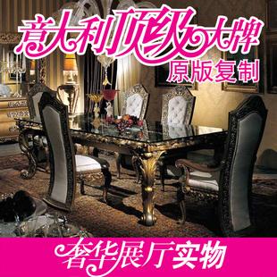 新古典家具欧式实木金银箔高档高级会所别墅定制经典