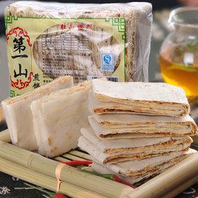 山东煎饼泰安特产手工香酥煎饼粗粮零食4种口味可选350g买4包邮