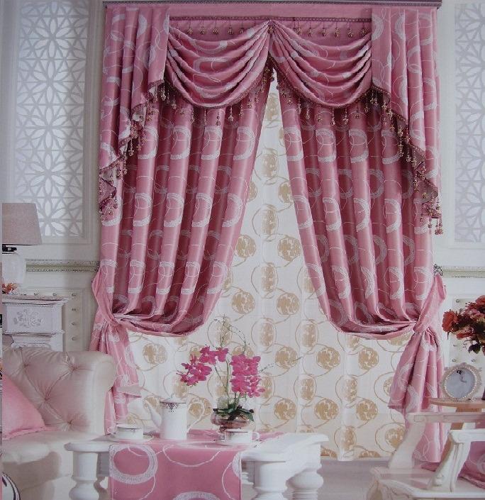 爱尚家/欧式窗饰窗帘定做高档遮光防紫外线客厅卧室