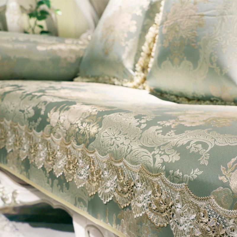欧式沙发垫布艺防滑真皮沙发坐垫客厅四季通用套奢华