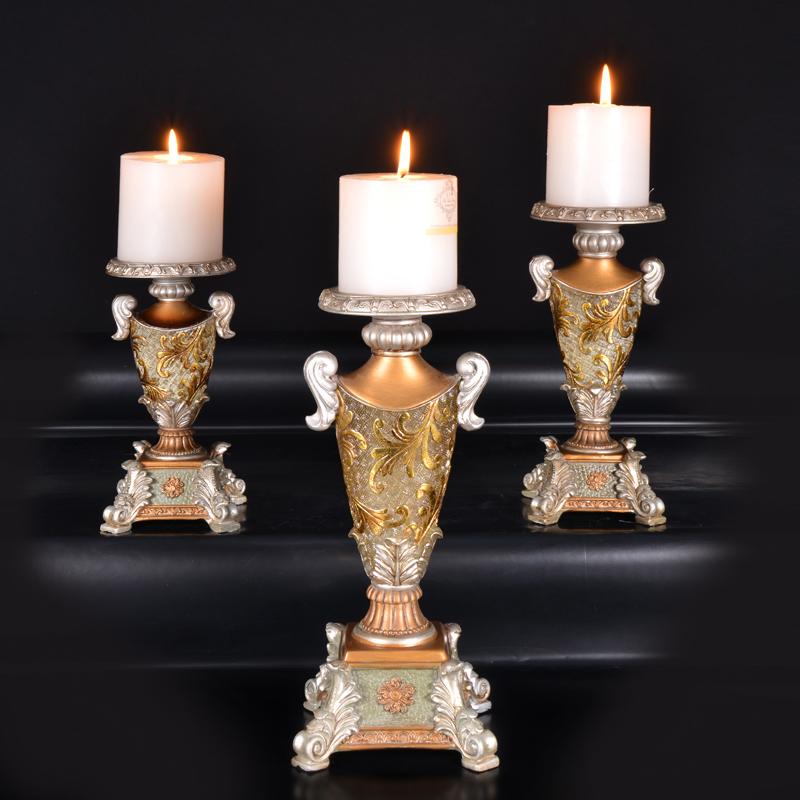 欧式新古典高脚单头蜡烛烛台浪漫