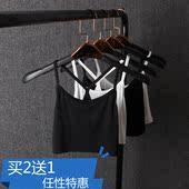 防走光打底衫 少女学生半身裹胸莫代尔棉 抹胸吊带背心女夏半截短款