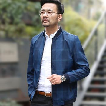 中年男士外套爸爸春装2017新款40