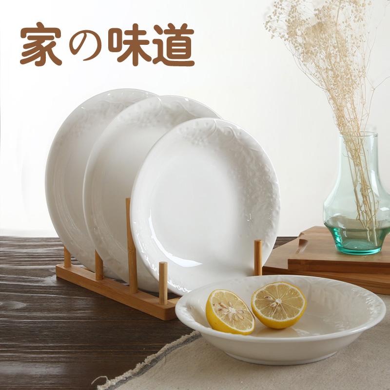 欧式浮雕深盘餐具