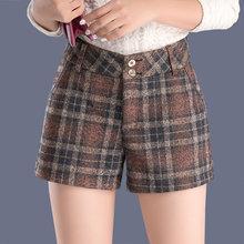 2016秋款逸阳旗舰店摩奥百斯顿盾女裤雅思诚 雅羊人短裤直筒裤