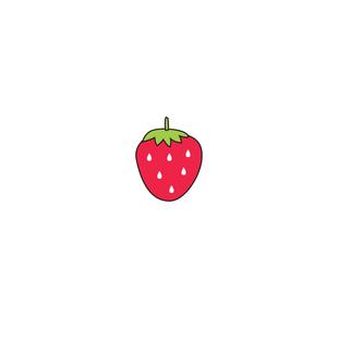 草莓 防水持久逼真一次性夜店欧美风个性西瓜草莓贴纸 纹身贴小清新图片