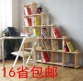 实木格架简易书架置物架格子货架木架子花架层架储物架展示架