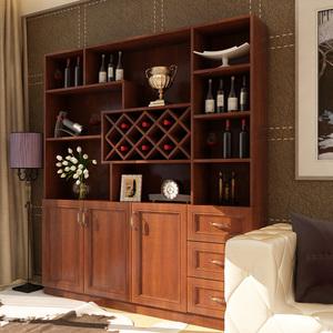 百意空间定制欧式红酒柜子客厅餐