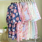春夏薄款纱布睡袍女日式情侣和服浴衣男纯棉睡裙开衫加长和风性感