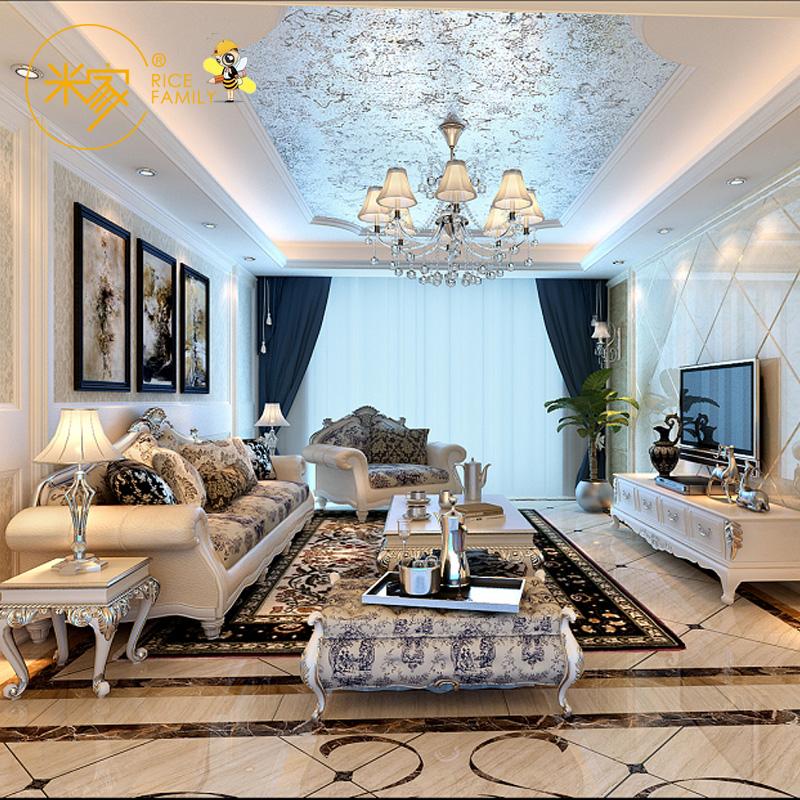 欧式风格家庭装修设计服务毛坯房屋家装室内设计师公司效果施工图