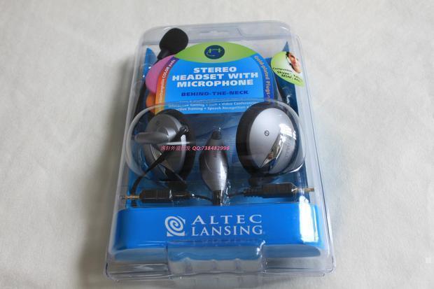 全新原装 奥特蓝星 AHS423高保真音响耳机 带麦 脑后式折叠耳机