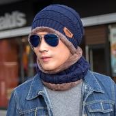 冬天韩版 潮毛线帽冬季针织帽套头帽护耳包头帽青年韩国男 帽子男士