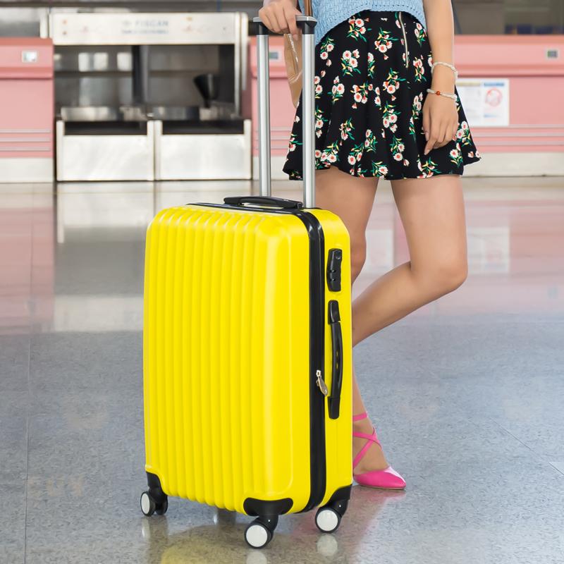 学生密码女子登机箱子万向轮行李寸拖箱箱包旅行拉杆