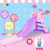 儿童室内滑梯宝宝滑滑梯家用折叠收纳小型上下滑梯组合塑料玩具