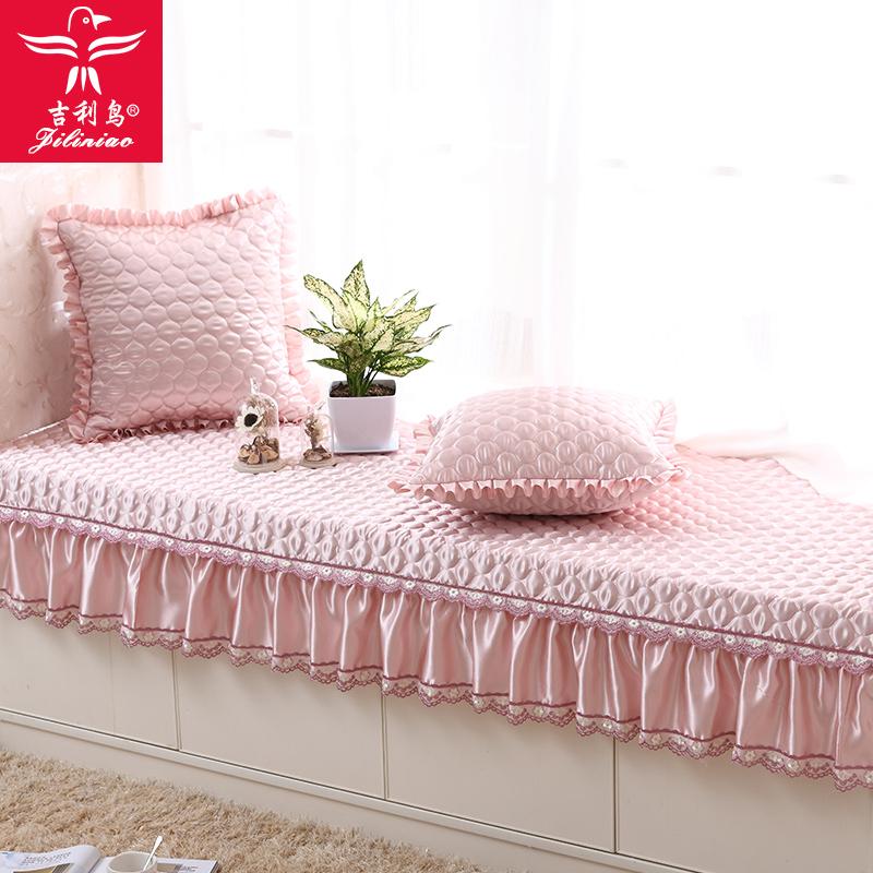 飘窗垫阳台垫布艺四季沙发垫窗台坐垫简约现代欧式